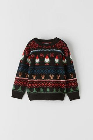 KIDS KNIT CHRISTMAS SWEATER