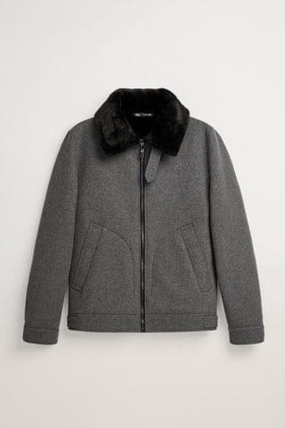 MEN DOUBLE-FACED JACKET