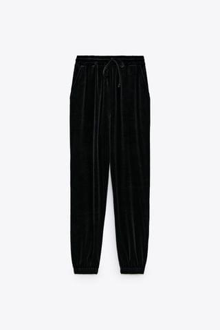 WOMEN VELVET JOGGING PANTS