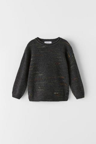 KIDS FANCY YARN SWEATER