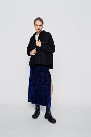 WOMEN LIMITED EDITION JACQUARD SKIRT