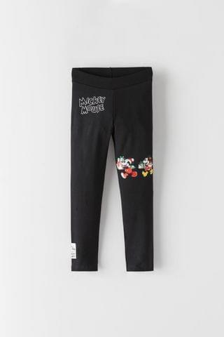 KIDS MICKEY AND MINNIE MOUSE DISNEY LEGGINGS