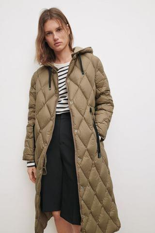WOMEN DOWN PUFFER COAT