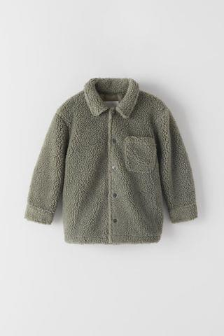 KIDS FLEECE OVERSHIRT