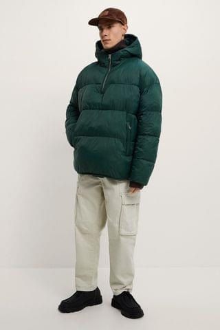 MEN PADDED PULLOVER PARKA