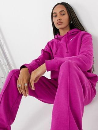 WOMEN Nike Trend Fleece oversized hoodie in purple