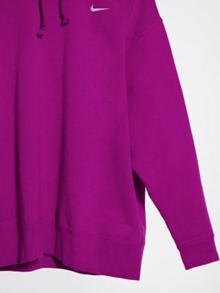 WOMEN Nike Plus Trend Fleece oversized hoodie in purple