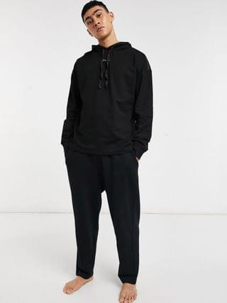 Nicce loungewear sofa hoodie in black