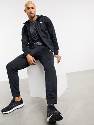 New Balance Running woven jacket in black