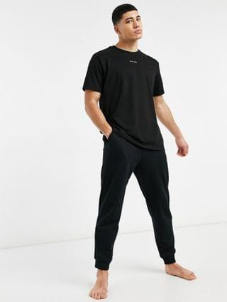 Nicce loungewear sofa t-shirt in black