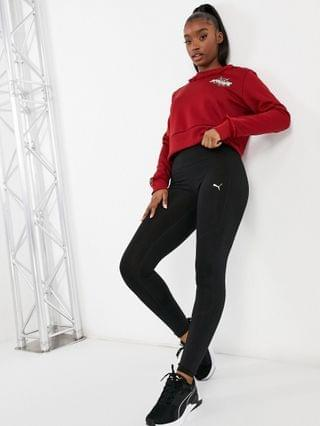 WOMEN Puma x Charlotte Olympia logo sweatshirt in red