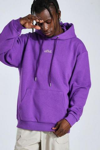 MEN Official Oversized Embroidered Hoodie
