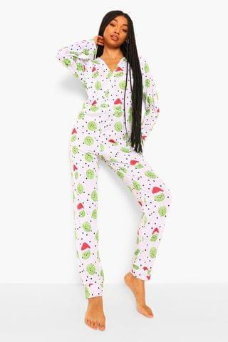 WOMEN Christmas Sprouts Jersey Onesie