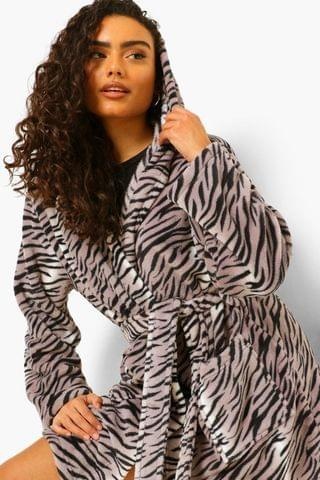 WOMEN Tiger Dressing Gown