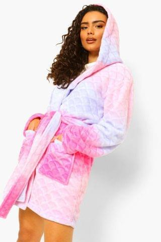WOMEN Ombre Dressing Gown
