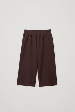 KIDSS ORGANIC COTTON JOGGER-STYLE CULOTTES