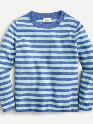 KIDS Kids' cashmere crewneck sweater in stripe