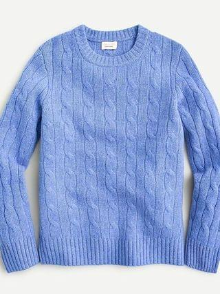 KIDS Kids' cable-knit cashmere sweater