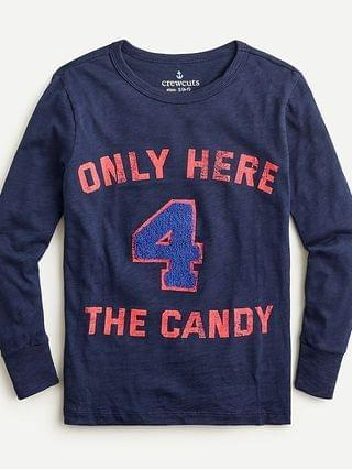 "KIDS Kids' ""Only here 4 the candy"" T-shirt"