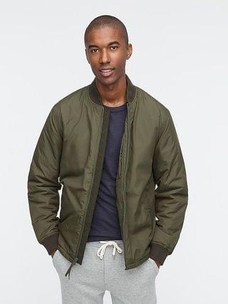 MEN Insulated everyday bomber jacket