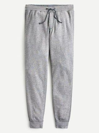MEN Lightweight sunfaded french terry jogger sweatpant