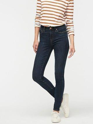 """WOMEN 9"""" high-rise toothpick jean in Point Lake wash"""
