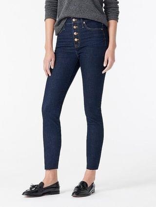 """WOMEN 10"""" highest-rise toothpick jean in Basher wash"""