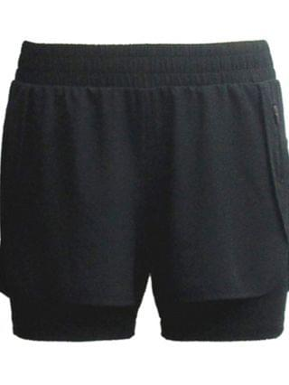 WOMEN Plus Size Woven Performance Shorts, Created for Macy's