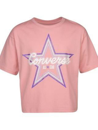 KIDS Big Girls Cotton Star T-Shirt