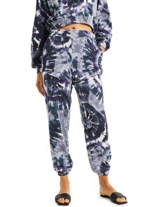 WOMEN CULPOS X INC Tie-Dye Convertible Sweatpants, Created for Macy's
