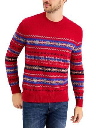 MEN Fair Isle Sweater, Created for Macy's