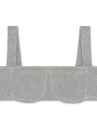 WOMEN Straight-Neck Sweater Bralette, Created for Macy's