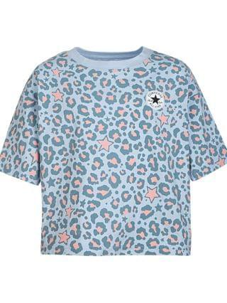 KIDS Big Girls Cotton Leopard-Print T-Shirt