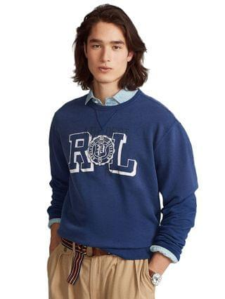 MEN Fleece Graphic Sweatshirt