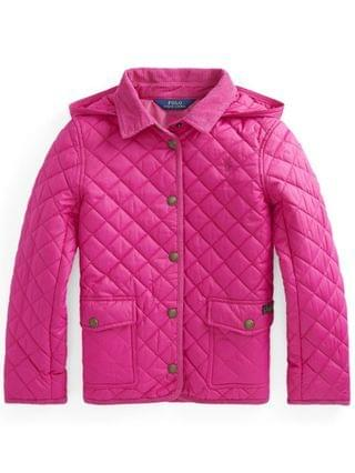 KIDS Big Girls Water Repellent Barn Jacket