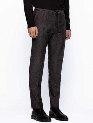 MEN BOSS Men's Banks4 Slim-Fit Trousers