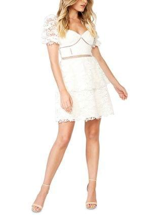 WOMEN Charlotte Lace A-Line Dress