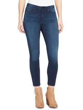 WOMEN Sculpted Ripped Skinny Ankle Jeans