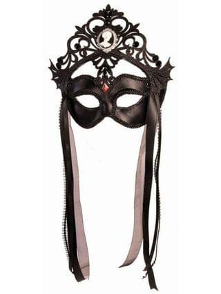 MEN Dark Royalty Masquerade Queen Mask