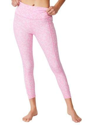 WOMEN Love You A Latte 7/8 Active Tight