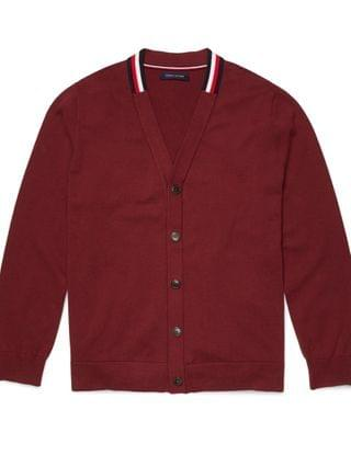 MEN William Regular-Fit Cardigan with Magnetic Buttons