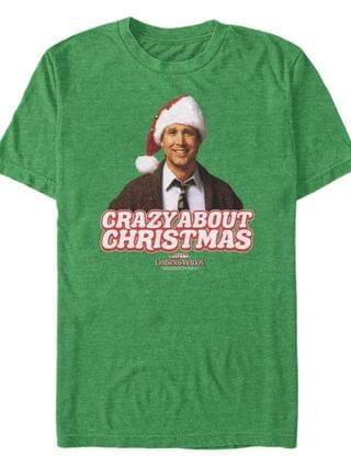 MEN National Lampoon Christmas Vacation Refill Your Eggnog Short Sleeve T-shirt