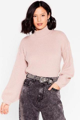 WOMEN Knit's Now or Never Turtleneck Sweater