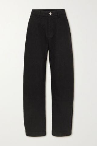 WOMEN GOLDSIGN The Low Curve high-rise tapered jeans