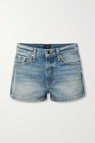 WOMEN KHAITE Charlotte denim shorts