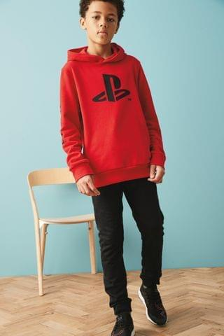 KIDS Red PlayStation Hoody (3-16yrs)