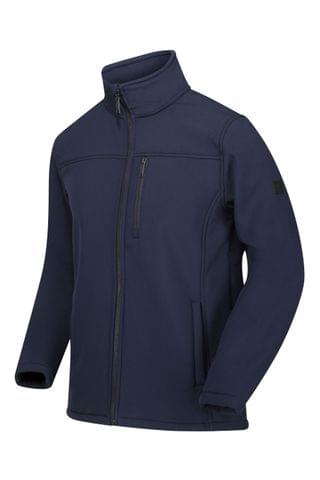MEN Regatta Blue Conlan Ii Soft Shell Jacket