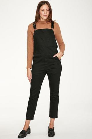 WOMEN Thought Black Ottoline Dungarees