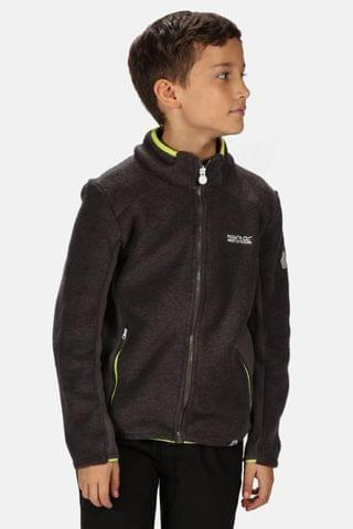 KIDS Regatta Grey Highton Winter Full Zip Fleece Jacket