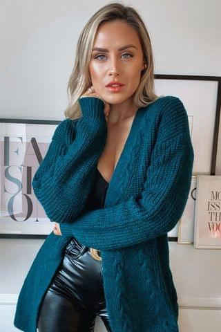 WOMEN Lipsy Cable Cardigan